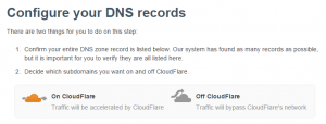 CloudFlare Website PageSpeed