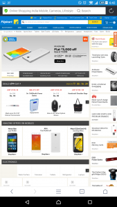 Trick to Open Flipkart on Mobile Browser