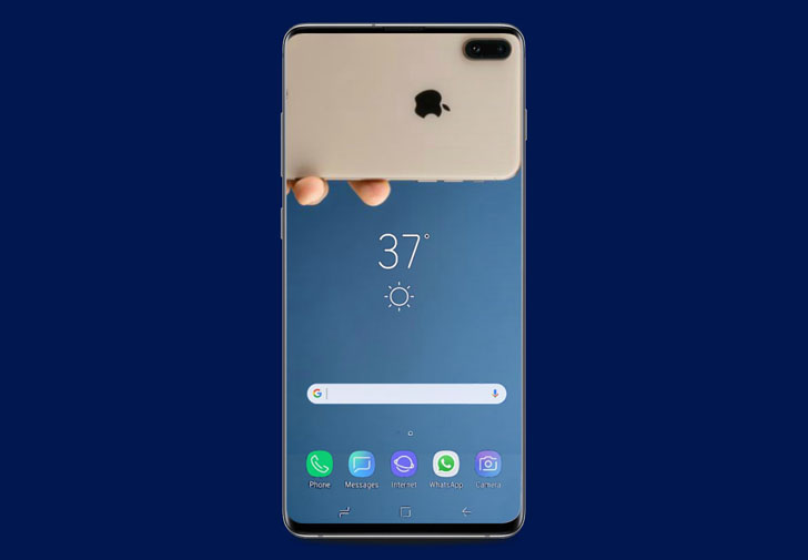 Download Samsung Galaxy S10 S One Ui And Hide The Notch Wallpapers Hitricks