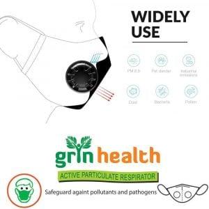 Grin Health N99 Pro Anti-Pollution Mask