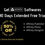 Get Affinity Publisher, Photo, Designer 90 Days Free Trial