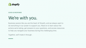 Shopify: Get 90 Day Extended Free Trial [COVID-19 Impact]