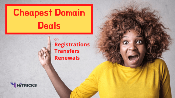 Cheapest Domain Registration & Transfer Deals July 2020
