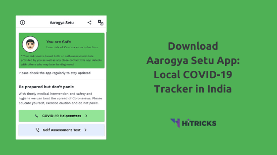 Download Aarogya Setu App: Local COVID Tracker