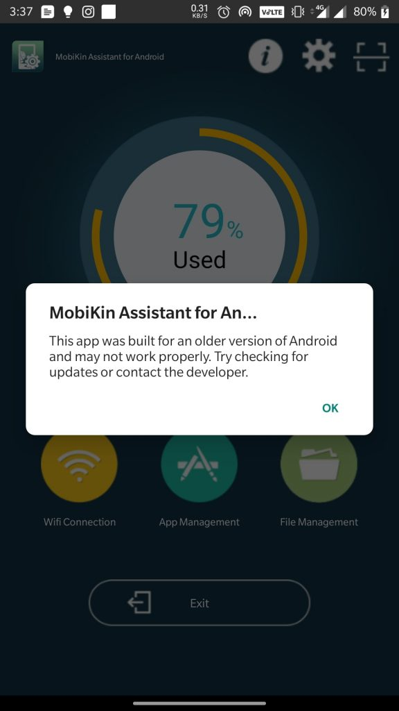 mobikin android app 2