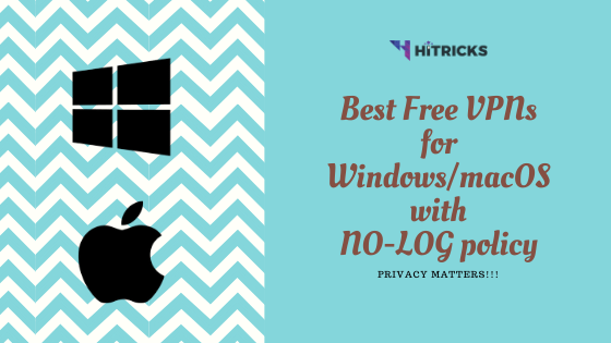 Best Free No-Logs VPN Providers for Windows & Macbook