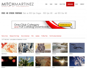 Mitch Martinez: Top 10 Sites to Download Royalty Free Stock Videos
