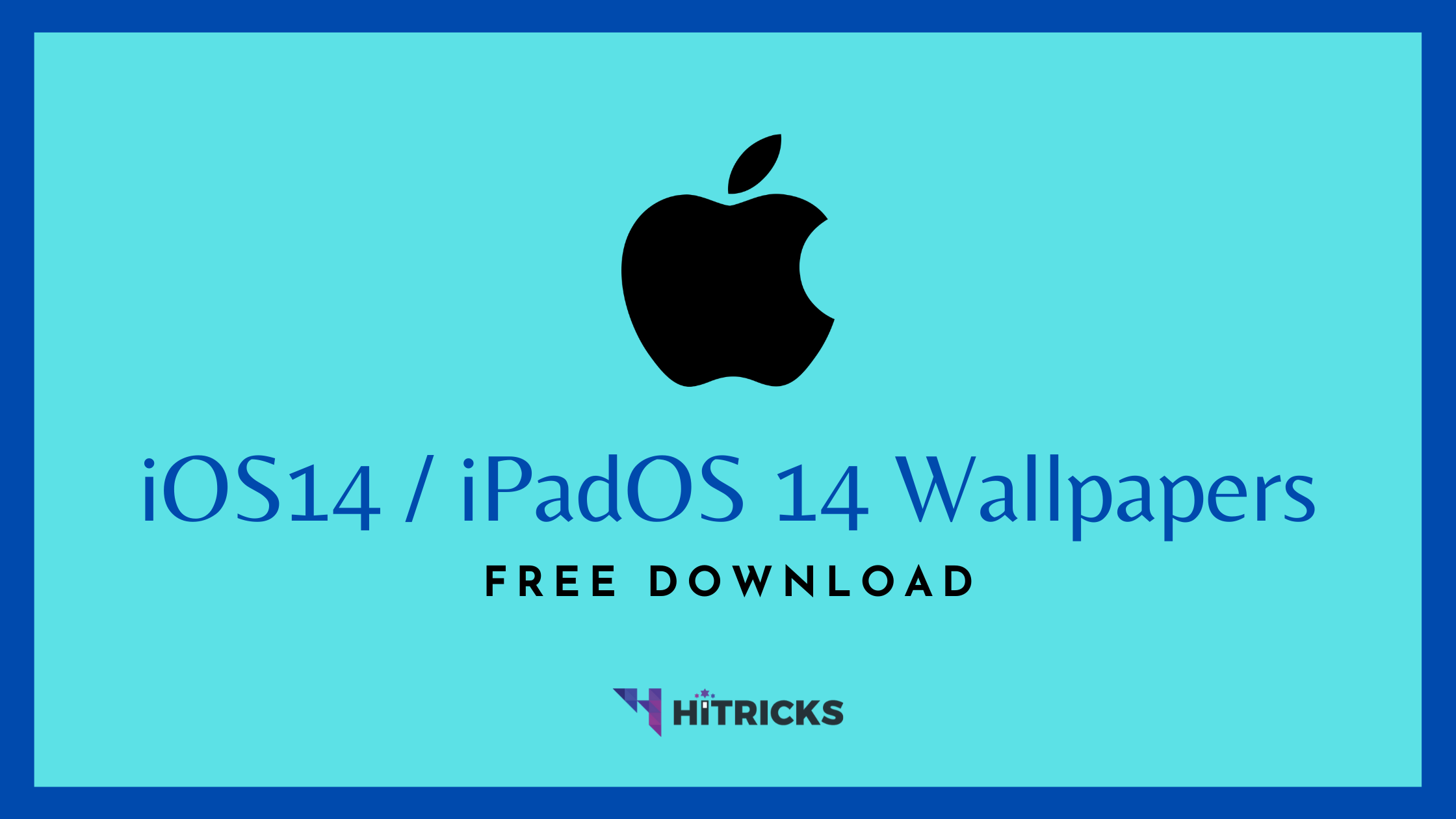 Ios 14 Ipados 14 Stock Wallpaper Hd Free Download Hitricks