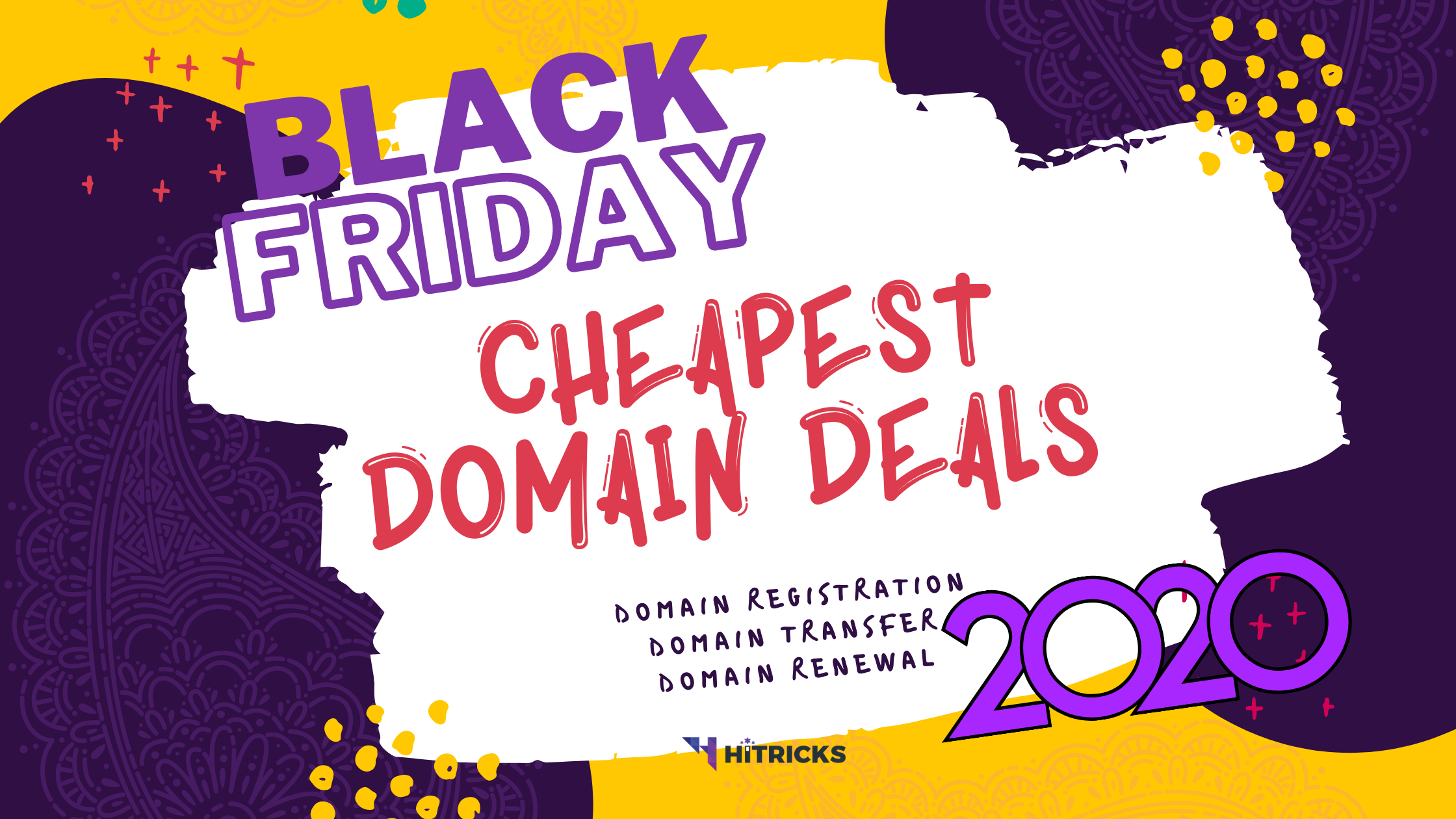 Black Friday 2020: Domain Registration & Transfer Deals